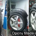 Opony made in China